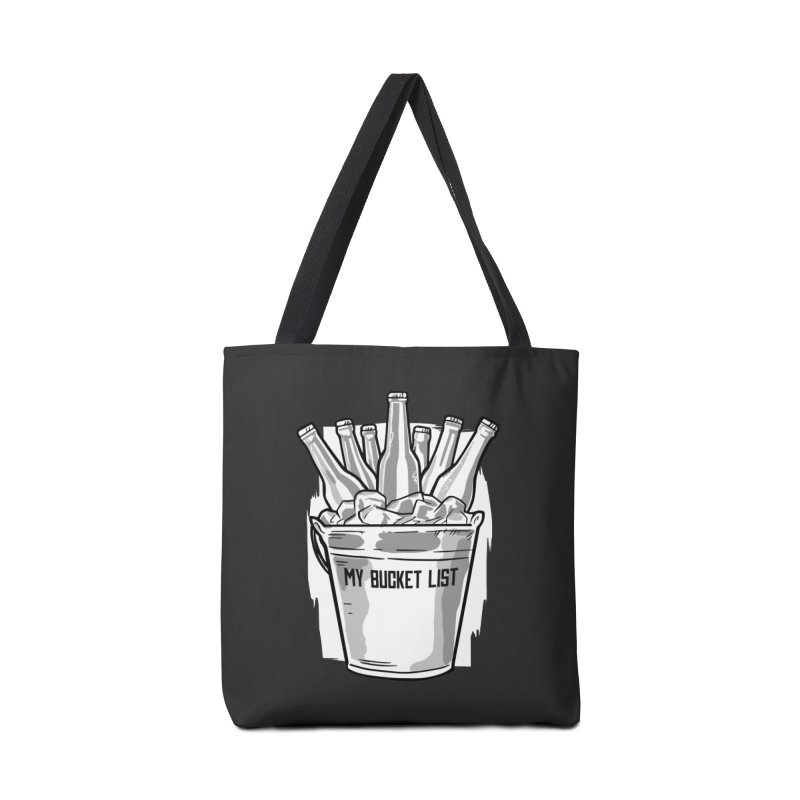 My Bucket List Accessories Bag by Drinking Humor