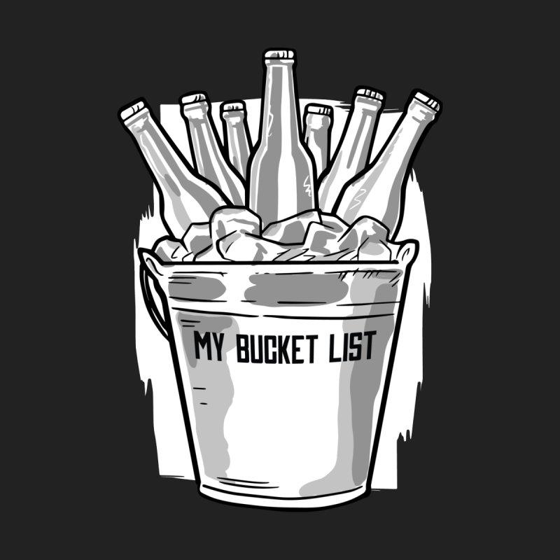 My Bucket List Men's Zip-Up Hoody by Drinking Humor