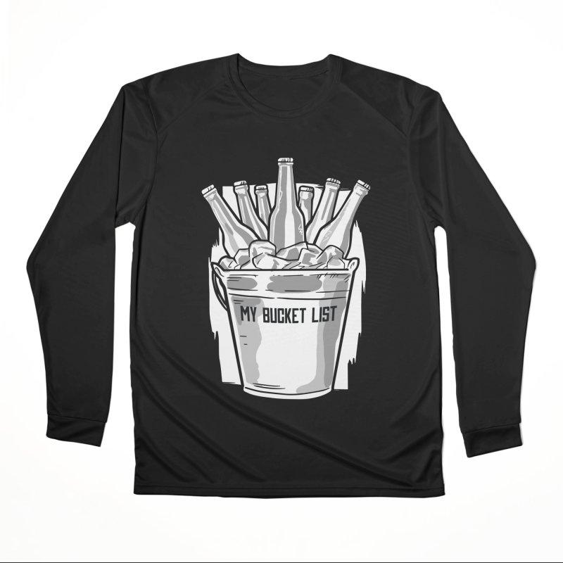 My Bucket List Women's Longsleeve T-Shirt by Drinking Humor