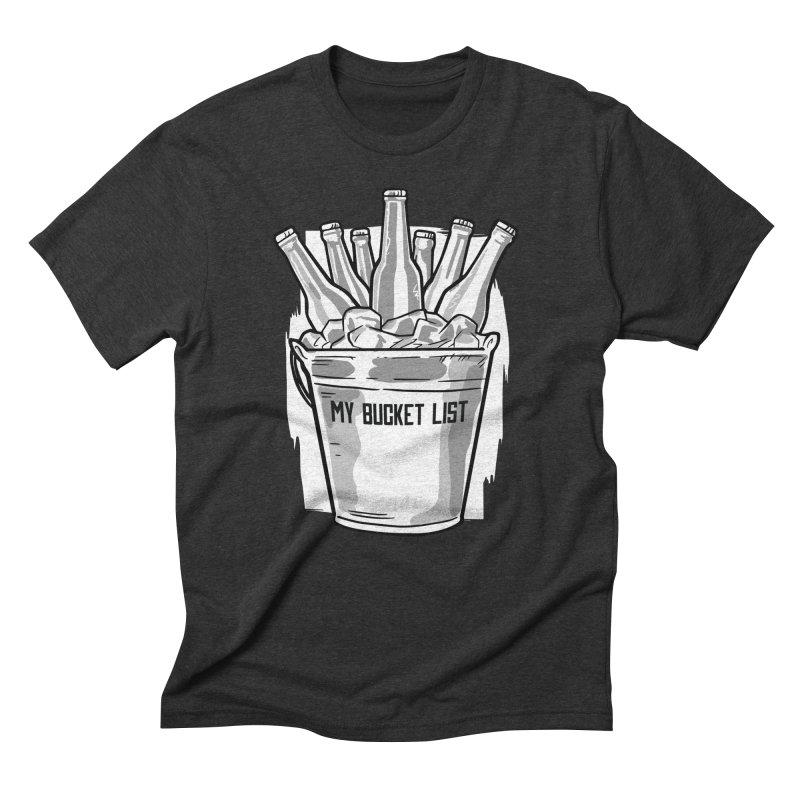 My Bucket List Men's T-Shirt by Drinking Humor