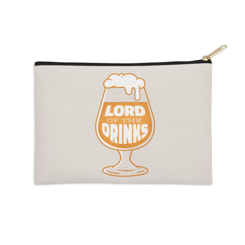 Lord Of The Drinks Accessories Zip Pouch by Drinking Humor