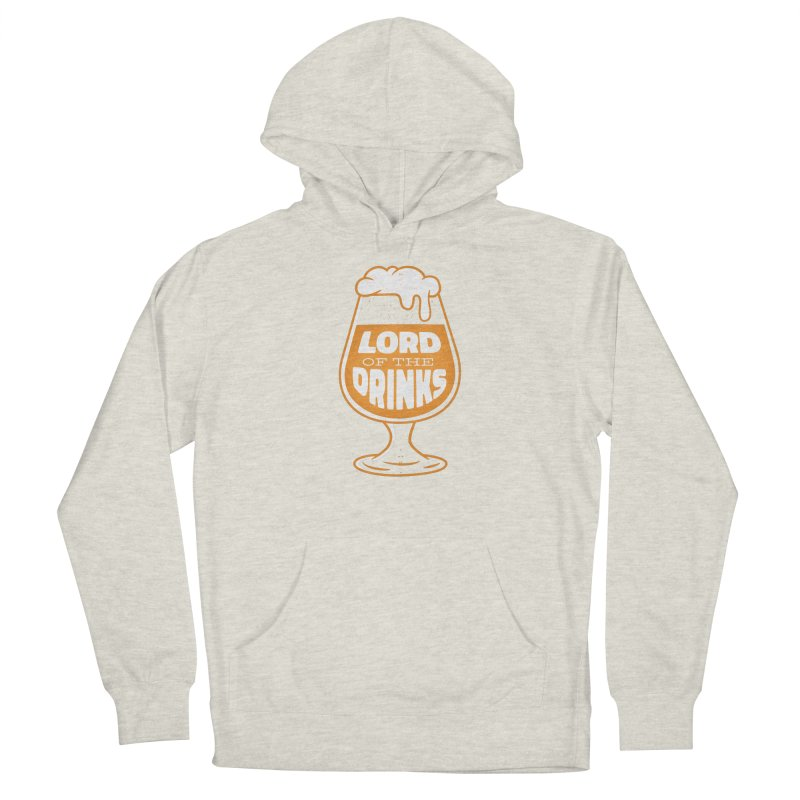 Lord Of The Drinks Men's Pullover Hoody by Drinking Humor