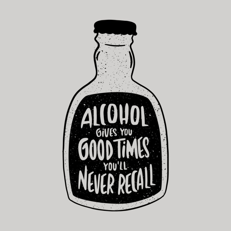 Alcohol Gives You Good Times Women's V-Neck by Drinking Humor