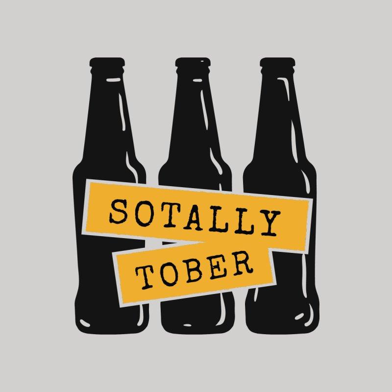 Sotally Tober Men's Zip-Up Hoody by Drinking Humor
