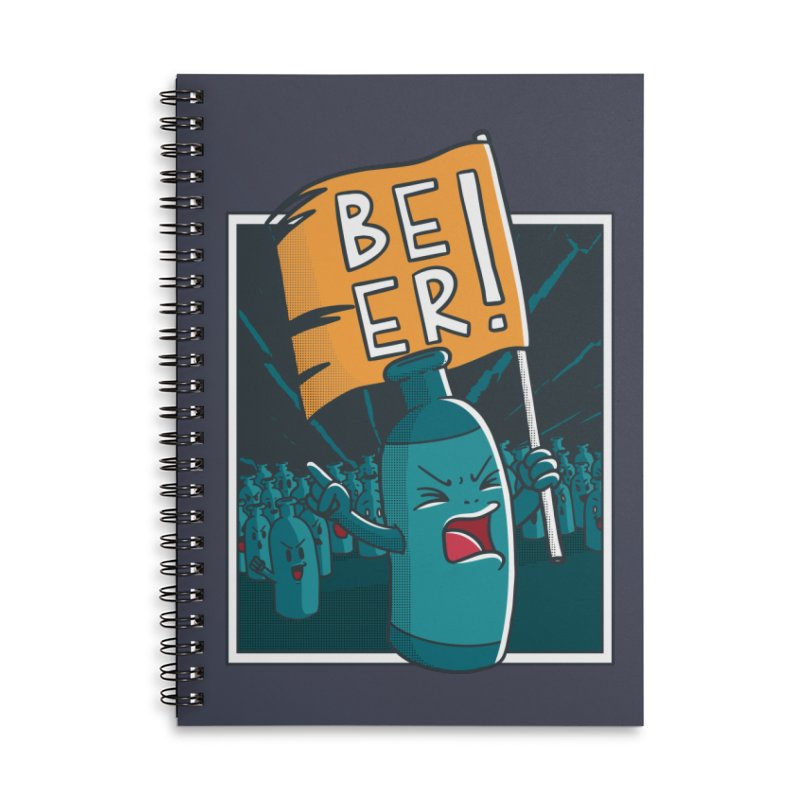 Beer Attack Accessories Notebook by Drinking Humor