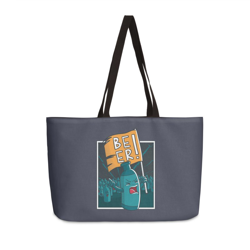 Beer Attack Accessories Bag by Drinking Humor