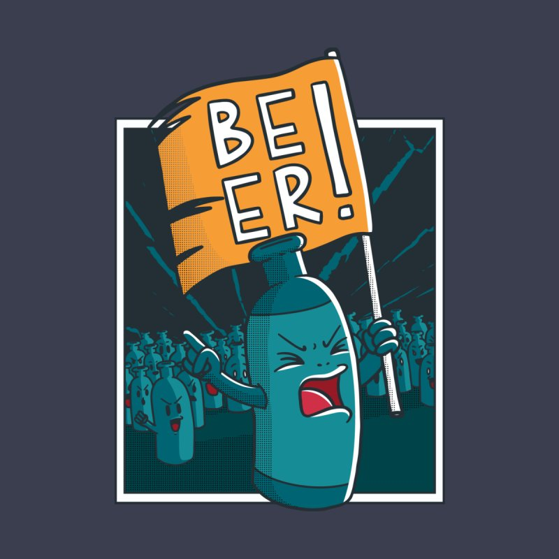Beer Attack Women's T-Shirt by Drinking Humor