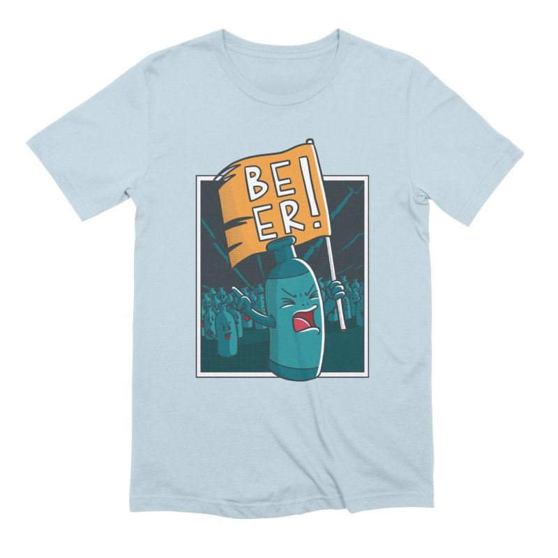 Beer Attack Men's T-Shirt by Drinking Humor