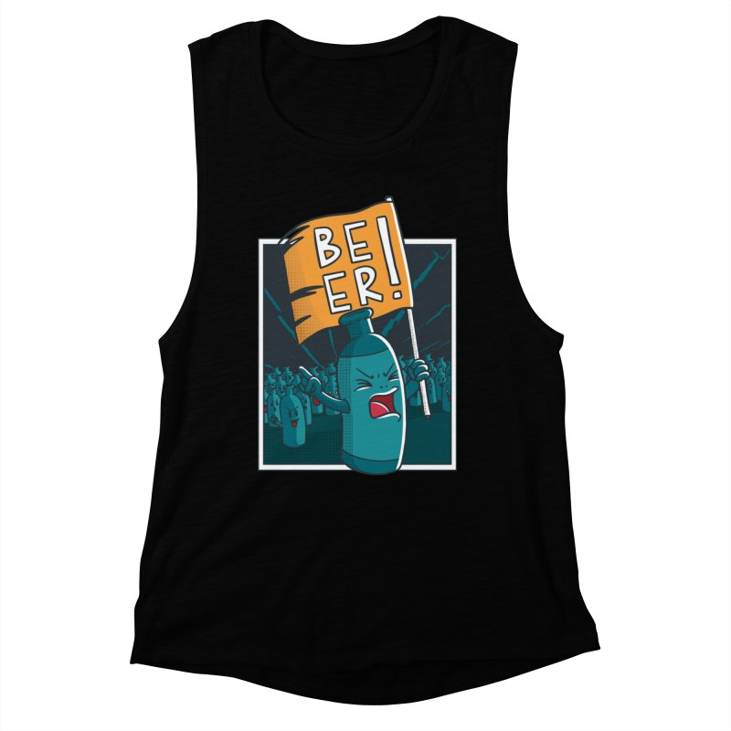 Beer Attack Women's Tank by Drinking Humor
