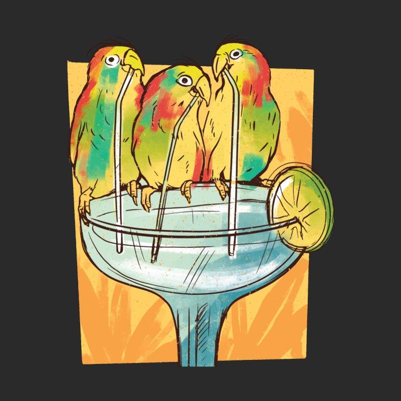 Margarita Birds Men's T-Shirt by Drinking Humor