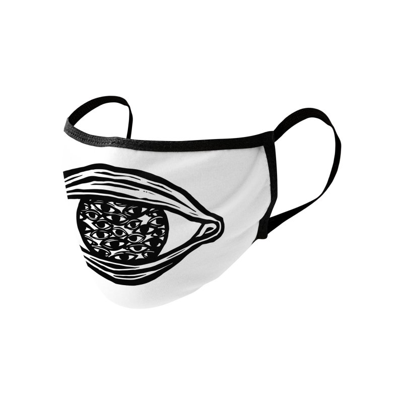 Eyes in Eye v.2 Accessories Face Mask by Dripface