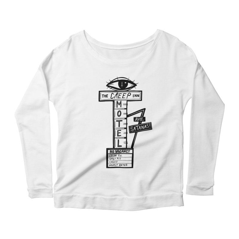The Creep Inn Motel Women's Longsleeve T-Shirt by Dripface