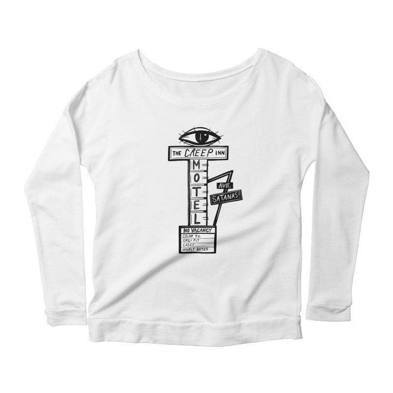 The Creep Inn Motel v.2 Women's Longsleeve T-Shirt by Dripface