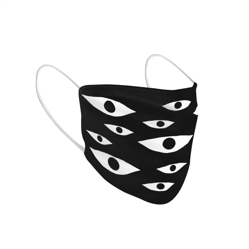 Mystic Eyes Accessories Face Mask by Dripface
