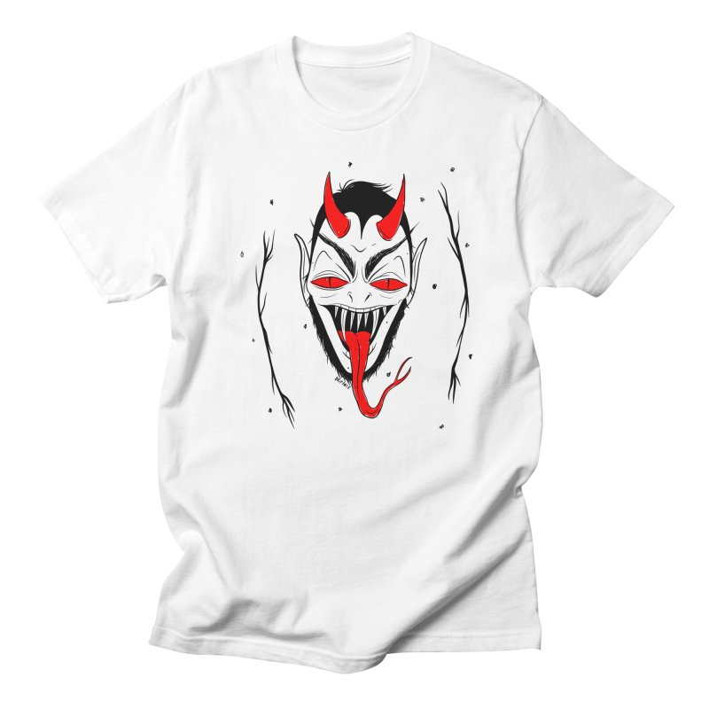 Satan Men's T-Shirt by Dripface