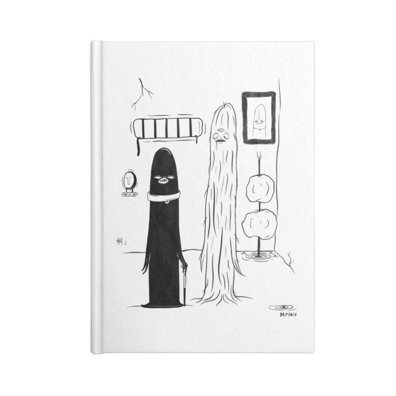 The Cell Accessories Notebook by Dripface