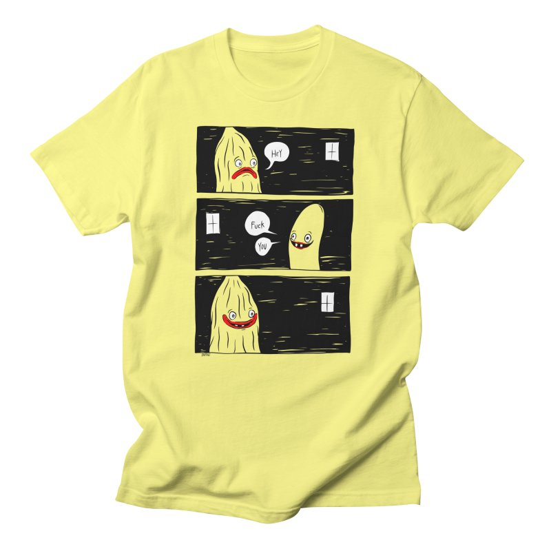Hey All Gender T-Shirt by Dripface