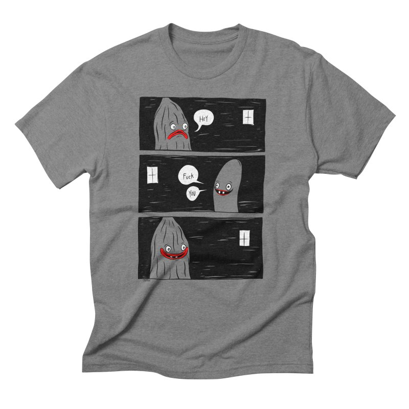 Hey Men's T-Shirt by Dripface