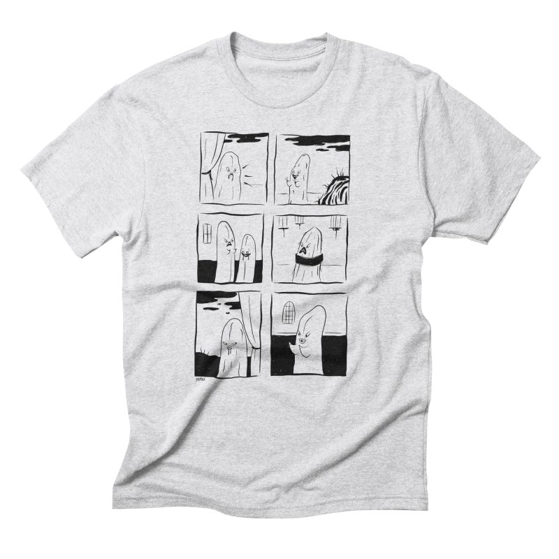 Just Here To Peer Men's T-Shirt by Dripface