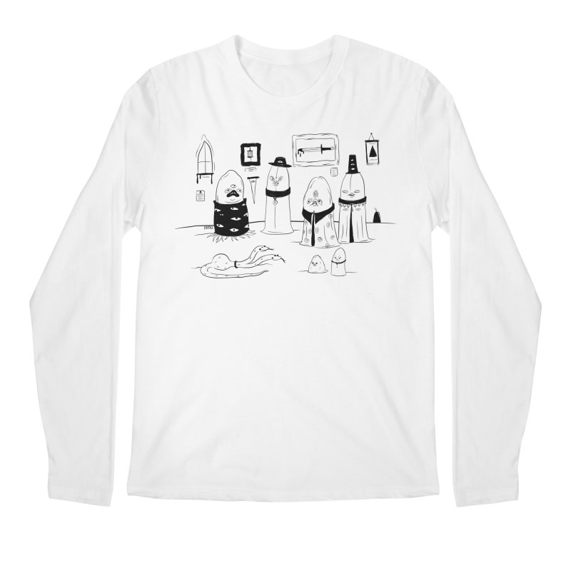 The Feeding Men's Longsleeve T-Shirt by Dripface