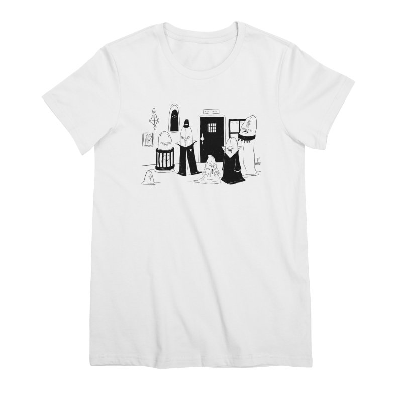 Who Invited Us? Feminine T-Shirt by Dripface