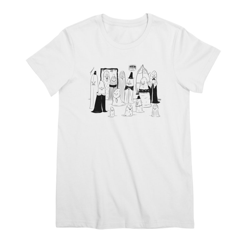 The Invited Feminine T-Shirt by Dripface