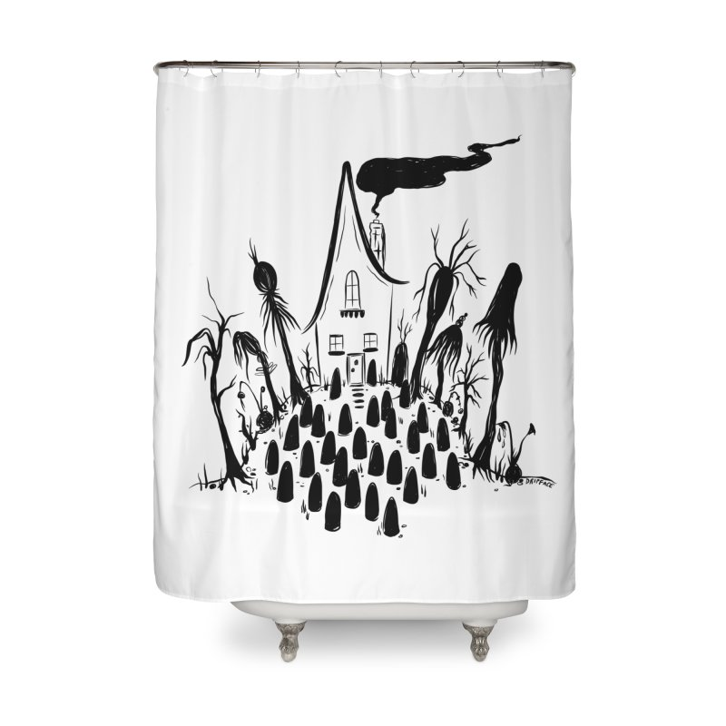 Welcome Home Home Shower Curtain by Dripface