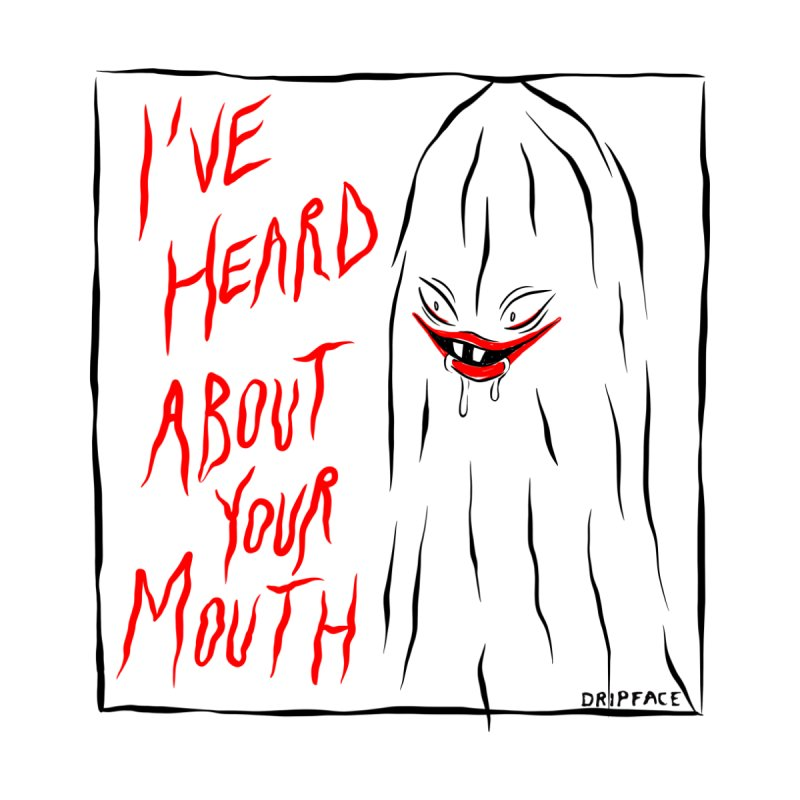 Mouth All Gender T-Shirt by Dripface