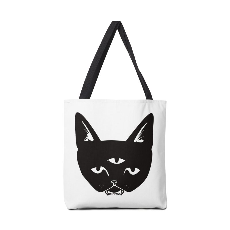 Three Eyed Cat Accessories Bag by Dripface