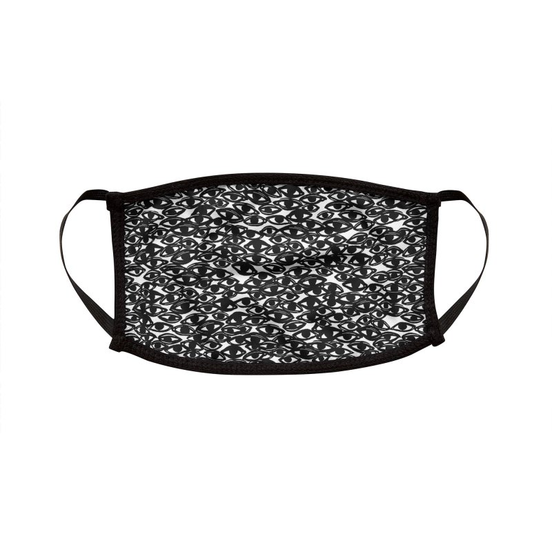 All Over Eyes Accessories Face Mask by Dripface