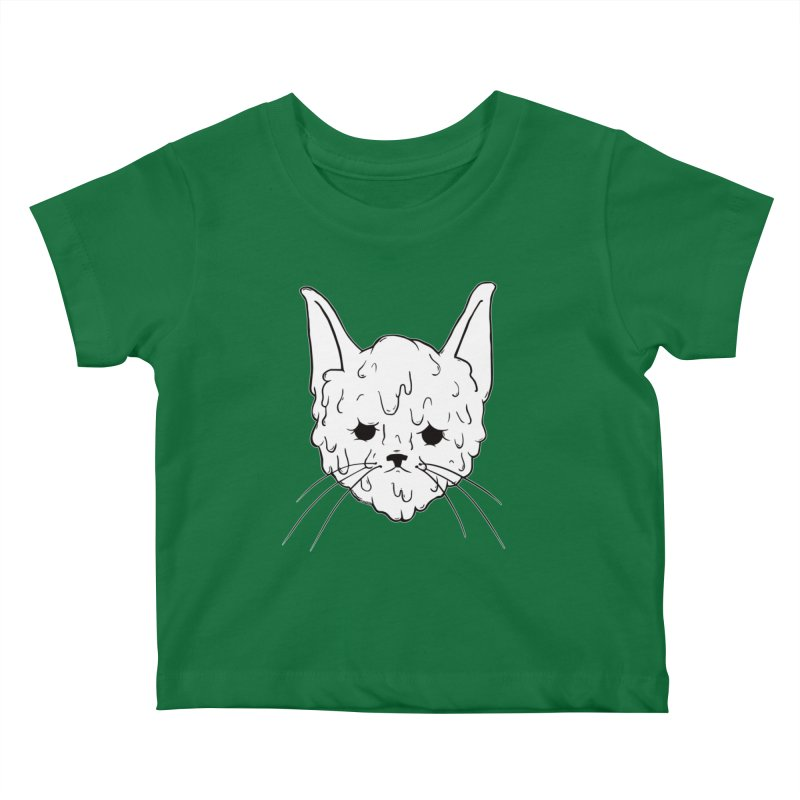 Slime Cat Kids Baby T-Shirt by Dripface