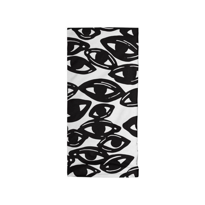 All Over Eyes Accessories Neck Gaiter by Dripface