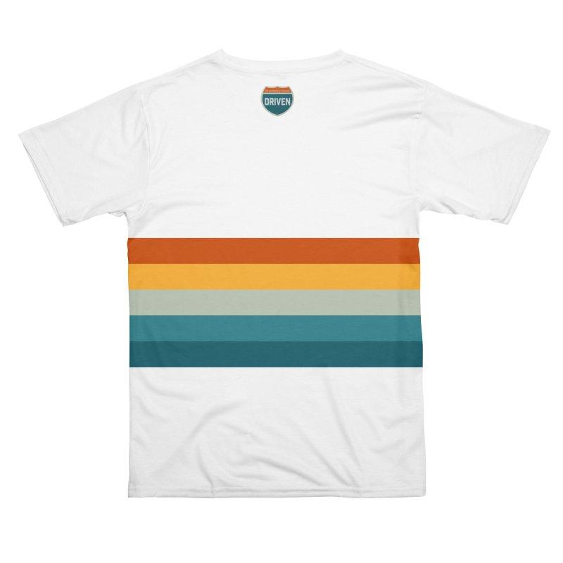Driven Retro Stripes T-Shirt Men's Cut & Sew by Driven to Thrive Merch Shop