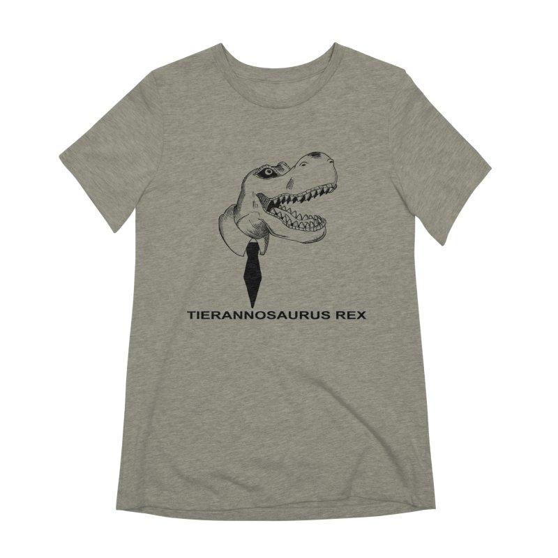 TIERANNOSARUS REX Women's Extra Soft T-Shirt by droidmonkey's Artist Shop