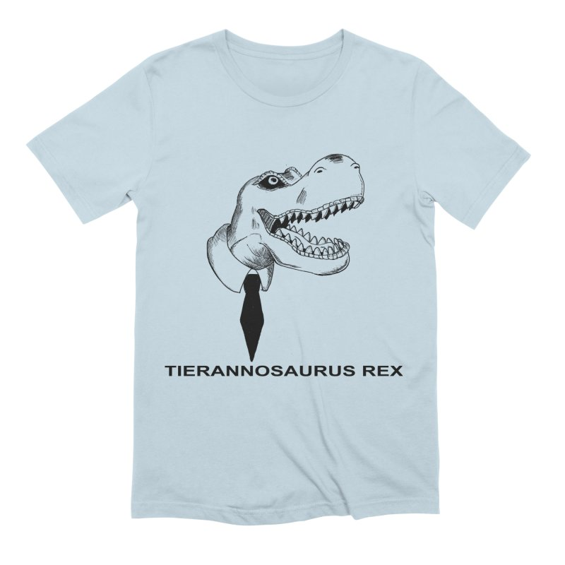 TIERANNOSARUS REX Men's Extra Soft T-Shirt by droidmonkey's Artist Shop