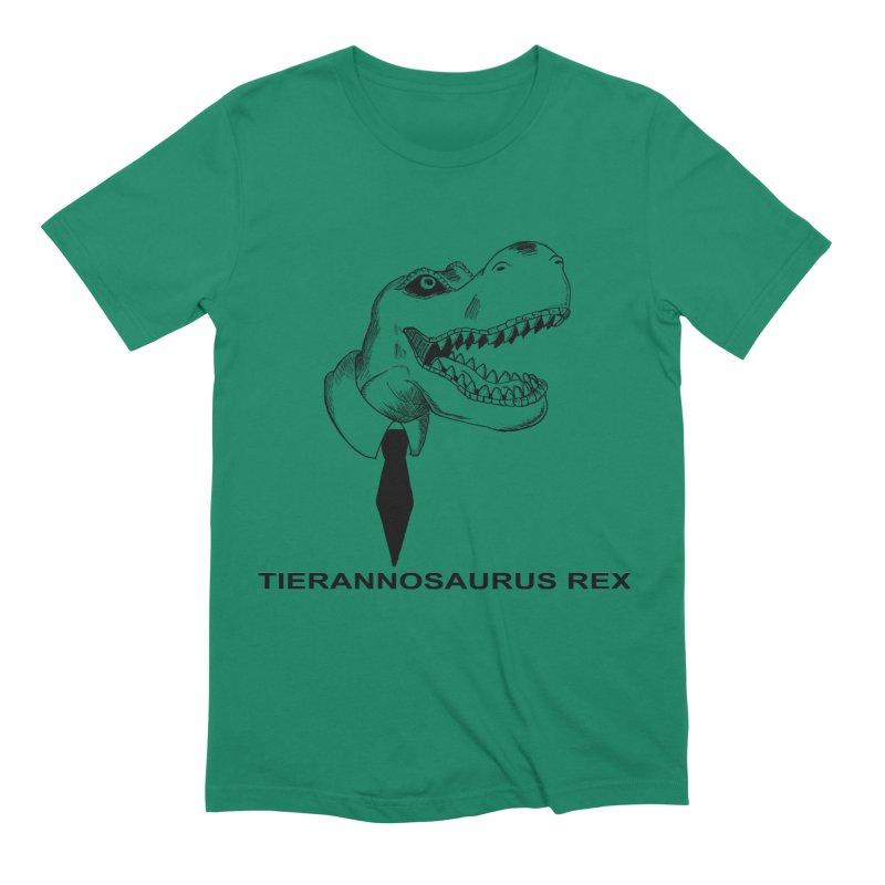 TIERANNOSARUS REX Men's Extra Soft T-Shirt by droidmonkey's Artist Shop