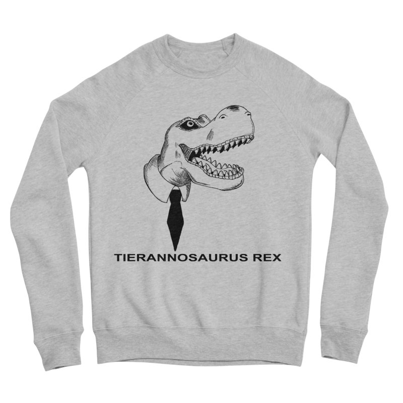 TIERANNOSARUS REX Men's Sponge Fleece Sweatshirt by droidmonkey's Artist Shop