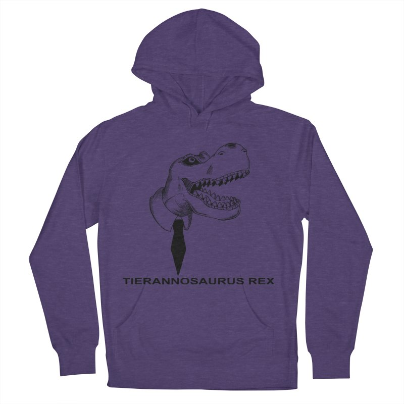 TIERANNOSARUS REX Women's French Terry Pullover Hoody by droidmonkey's Artist Shop
