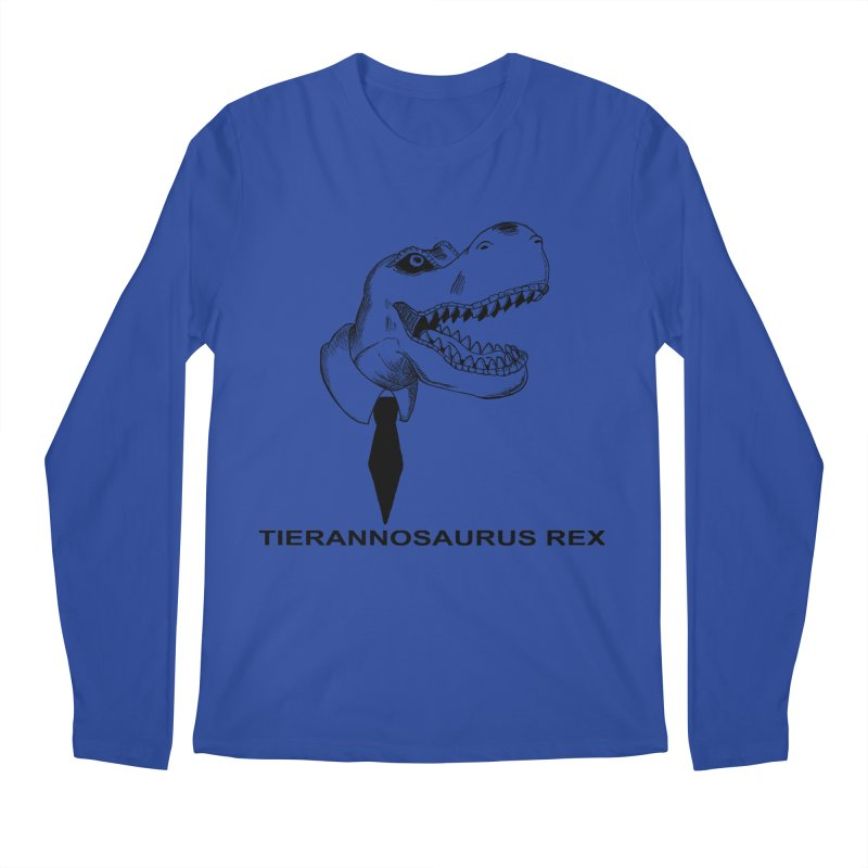 TIERANNOSARUS REX Men's Regular Longsleeve T-Shirt by droidmonkey's Artist Shop