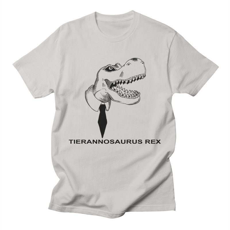 TIERANNOSARUS REX Men's Regular T-Shirt by droidmonkey's Artist Shop