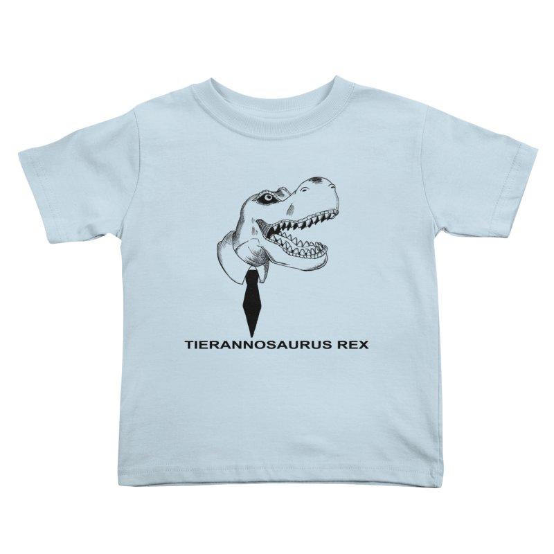 TIERANNOSARUS REX Kids Toddler T-Shirt by droidmonkey's Artist Shop