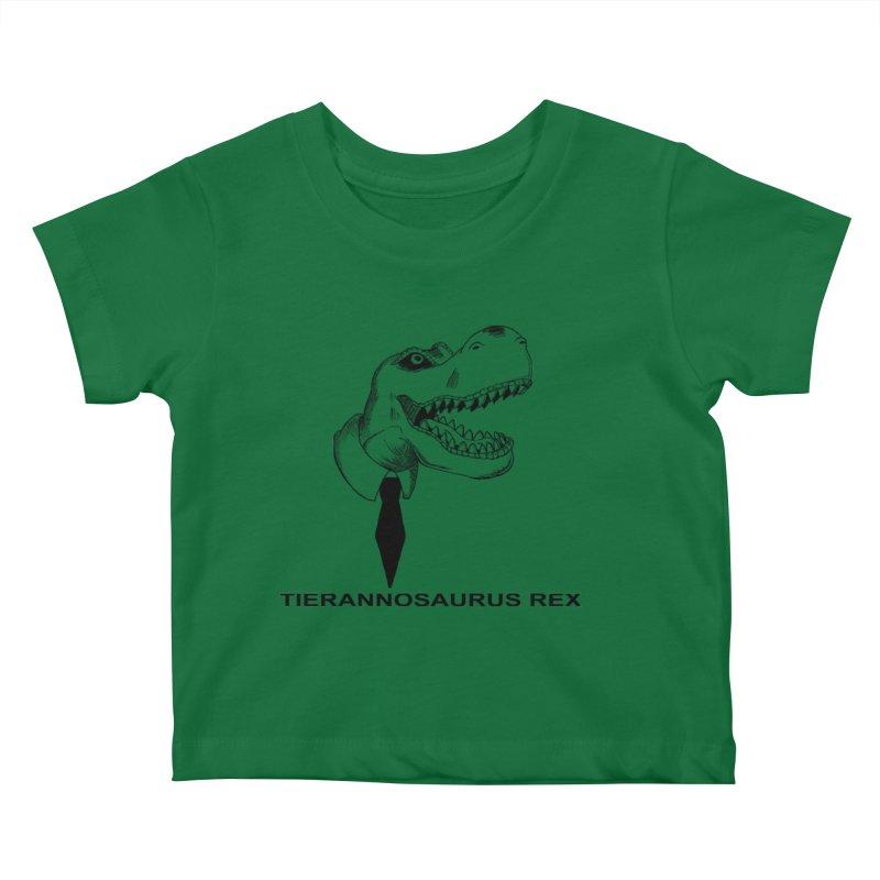 TIERANNOSARUS REX Kids Baby T-Shirt by droidmonkey's Artist Shop