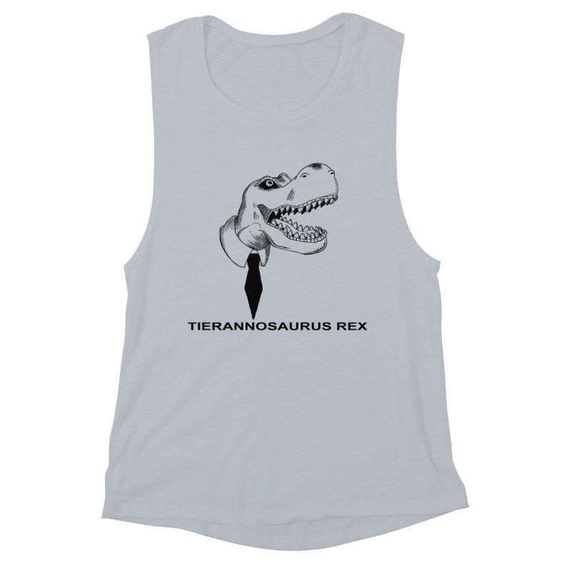TIERANNOSARUS REX Women's Muscle Tank by droidmonkey's Artist Shop