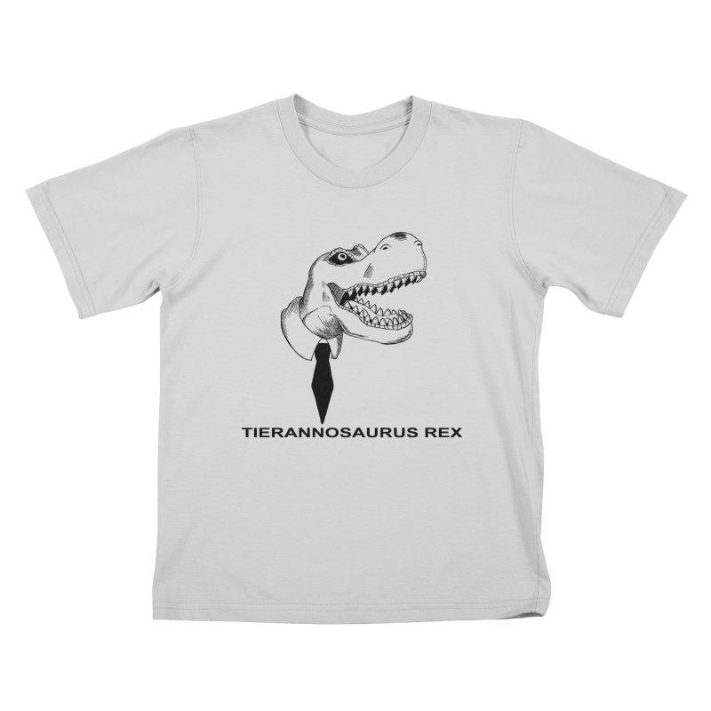 TIERANNOSARUS REX Kids T-Shirt by droidmonkey's Artist Shop