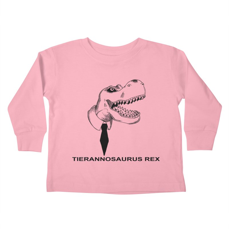 TIERANNOSARUS REX Kids Toddler Longsleeve T-Shirt by droidmonkey's Artist Shop