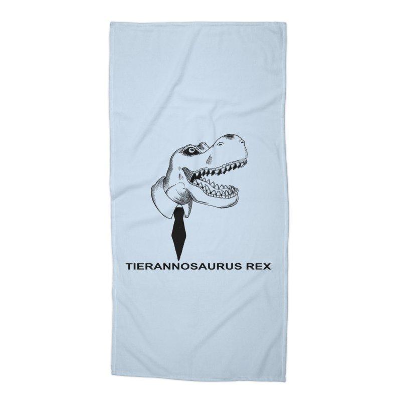 TIERANNOSARUS REX Accessories Beach Towel by droidmonkey's Artist Shop