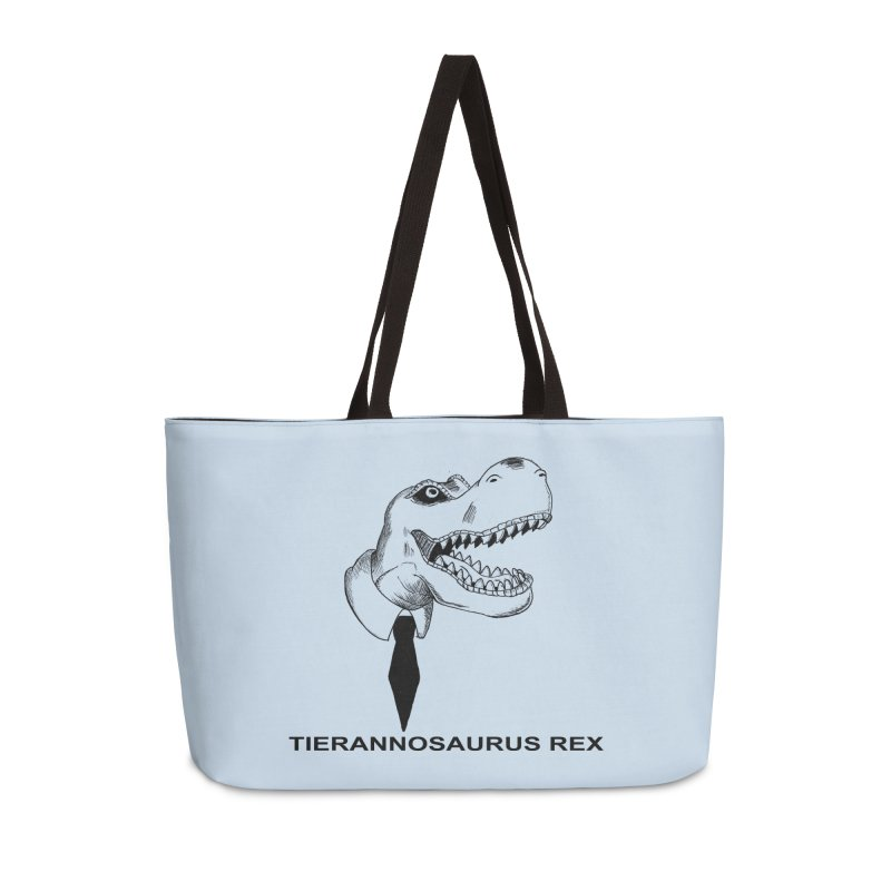 TIERANNOSARUS REX Accessories Weekender Bag Bag by droidmonkey's Artist Shop