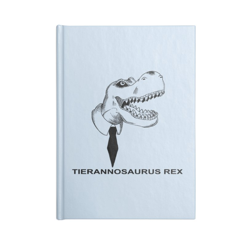 TIERANNOSARUS REX Accessories Lined Journal Notebook by droidmonkey's Artist Shop