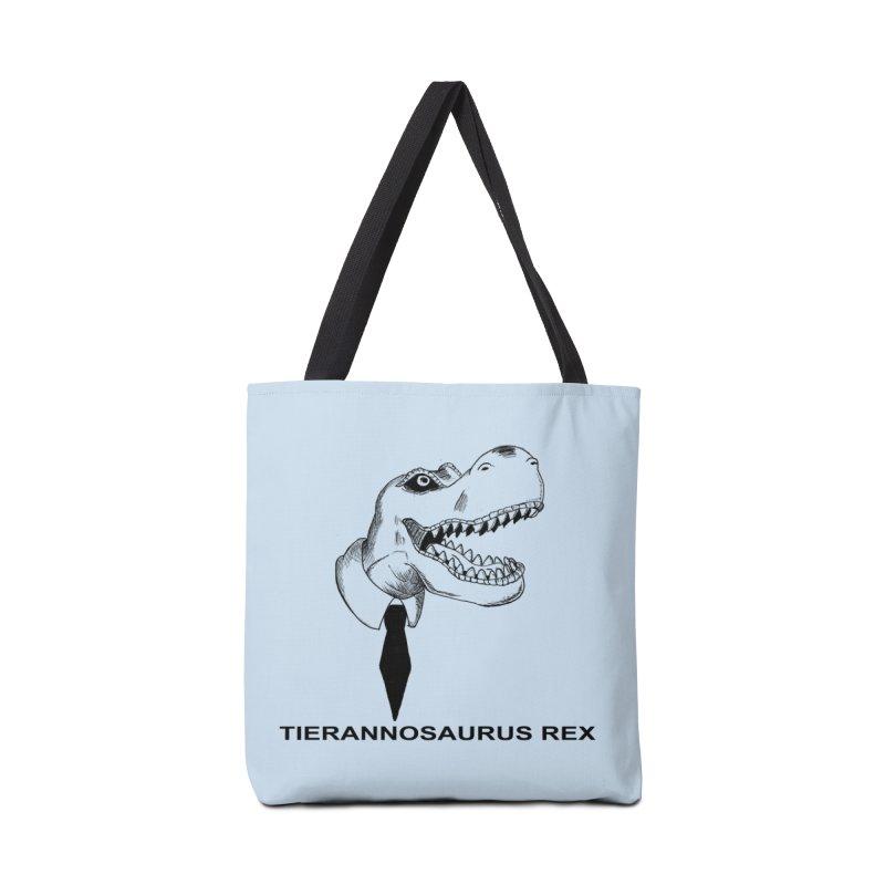 TIERANNOSARUS REX Accessories Tote Bag Bag by droidmonkey's Artist Shop