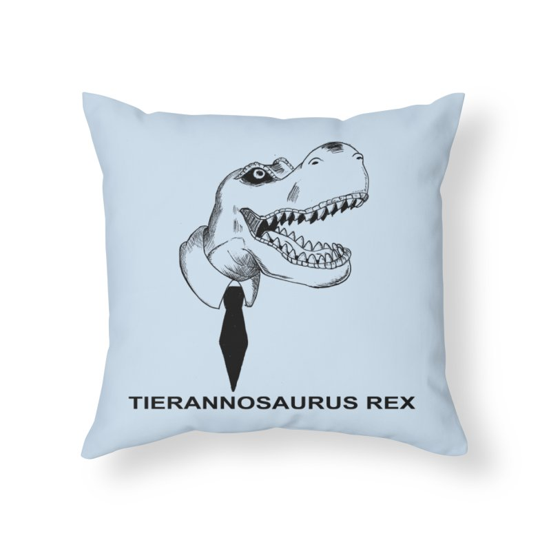 TIERANNOSARUS REX Home Throw Pillow by droidmonkey's Artist Shop